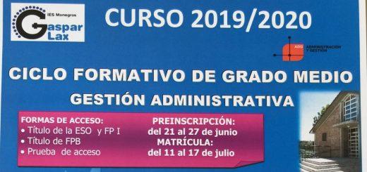 Educaragon Calendario Escolar 2020.Departamento De Administracion Y Gestion Ies Monegros